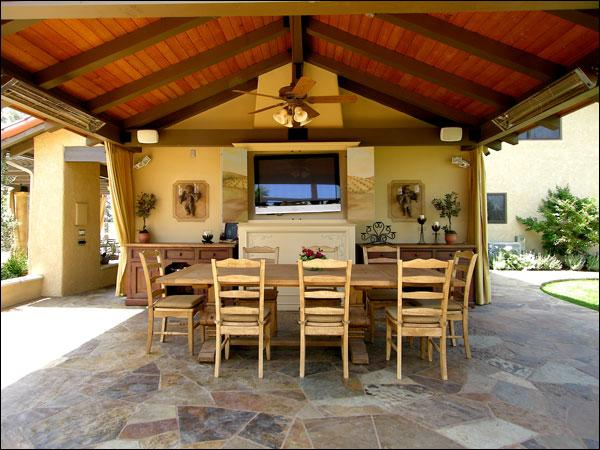 Building A Patio Cover to pin on Pinterest